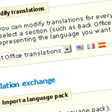 Boutique Internet - Traductions