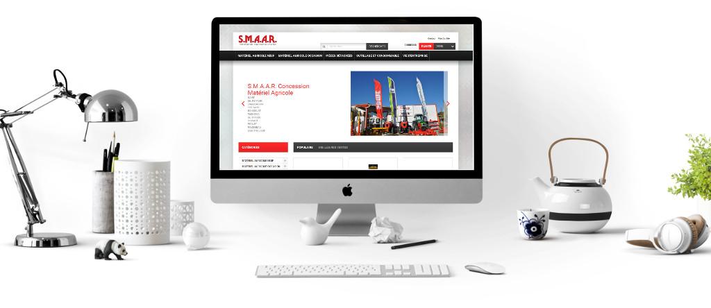 Création de sites e-commerce de la société WEBEWEB