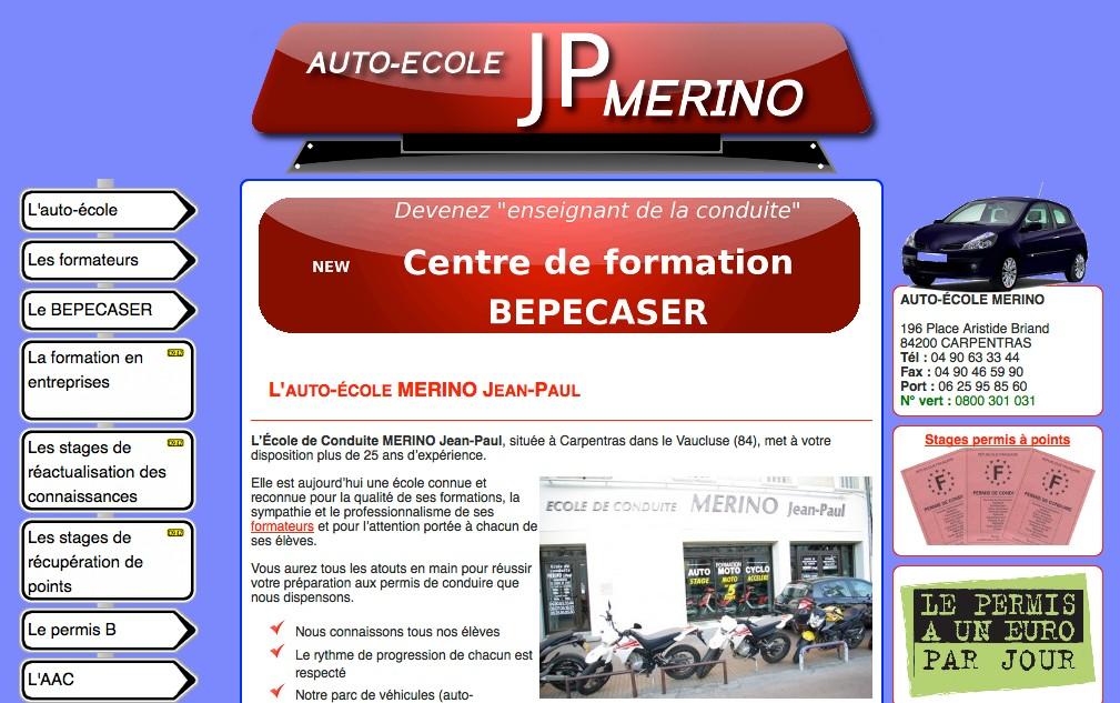 Auto-école MERINO : école de conduite à Carpentras dans le Vaucluse (84)