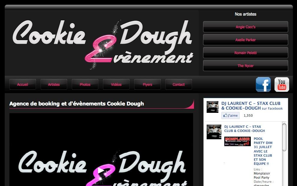 Cookie Dough  : organisateur d'évènements à Entraigues sur la Sorgue dans le Vaucluse (84)<br />