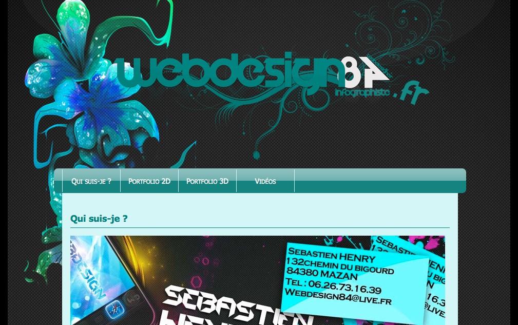 Web Design 84 : infographiste à Mazan dans le Vaucluse (84)