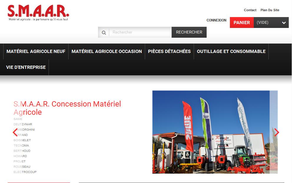 S.M.A.A.R. : société de matériel agricole Alain Roman à Mazan dans le Vaucluse (84) -
